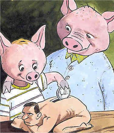Human Bank For Pigs