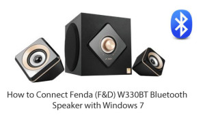 How-to-Connect-Fenda-(F&D)-W330BT-Bluetooth-Speaker-with-Windows-7