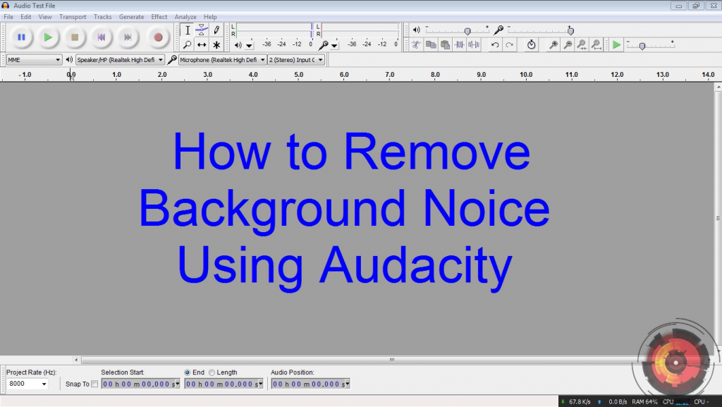 How-to-Remove-Background-Noice-Using-Audacity