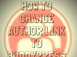 How-to-Change-Author-Link-to-Buddypress-Profile-Link