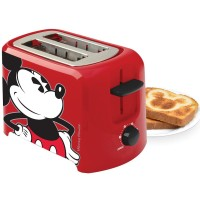 Disney Classic Mickey Mouse Toaster With Two Slice Wide Slots