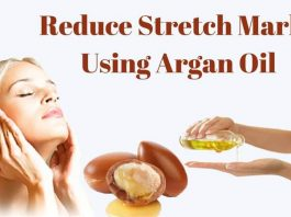 Reduce-Strech-Mark-Using-Argan-Oil