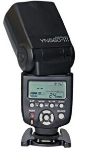 Yongnuo Professional YN 560 III Canon External Flash