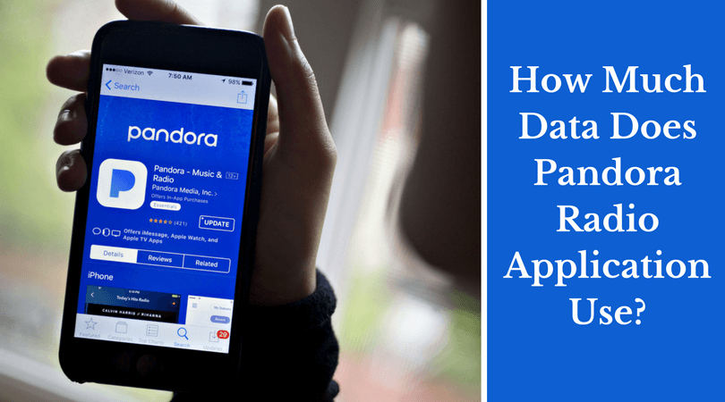 How Much Data Does Pandora Radio Application Use