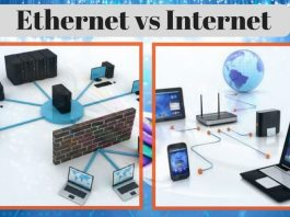 Ethernet vs Internet