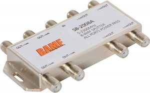 BAMF 8-Way Coax Cable Splitter