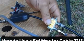 How to Use a Splitter for Cable TV