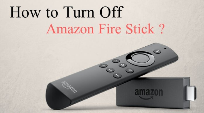 How to Turn Off Amazon Fire Stick